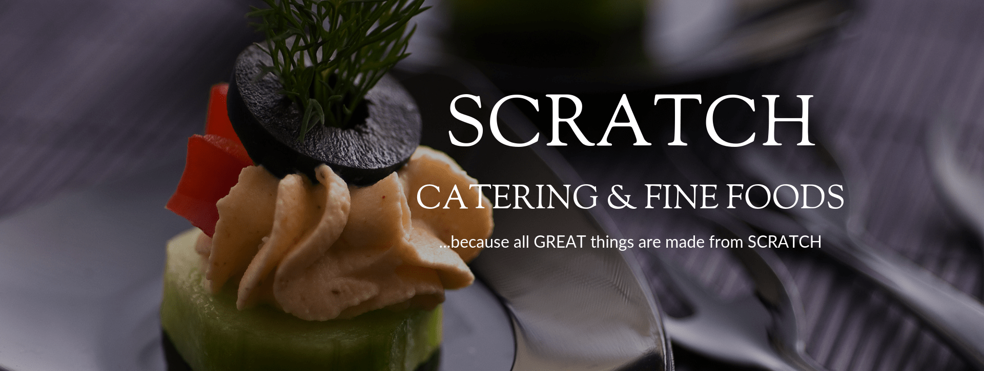 Scratch Catering header image
