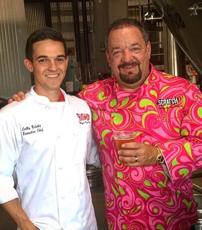 Image of Ted and Colby Bilsky. Ownser, Scratch Catering